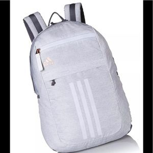 adidas Backpack One Size Jersey White Rose Gold